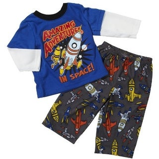 Carter's Baby Boys' Amazing Adventures 2 Piece Pant Pajamas -24 Months