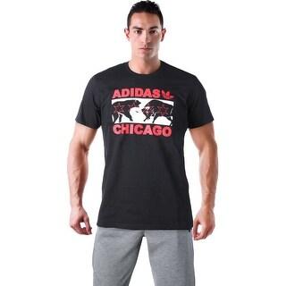 Adidas Originals Chicago Men's Graphic Tee T-Shirt