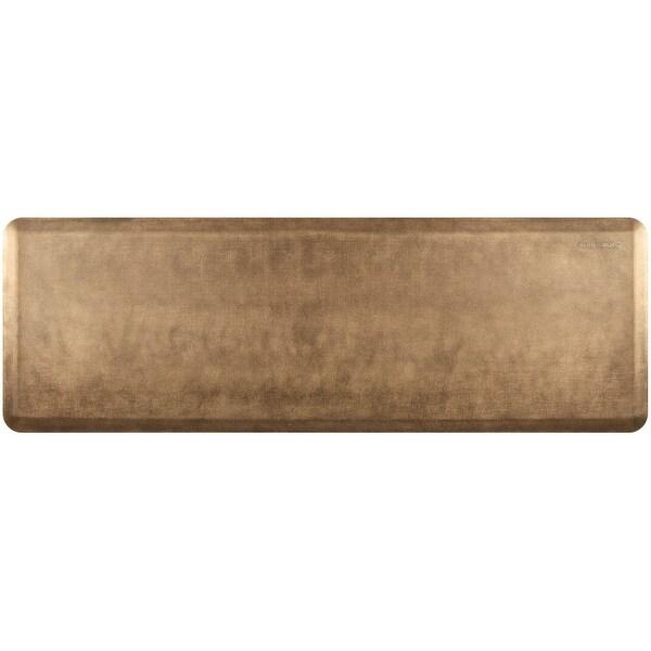 "WellnessMats Estates Linen Anti-Fatigue Mat, Burnished Copper, 72"" by 24"""
