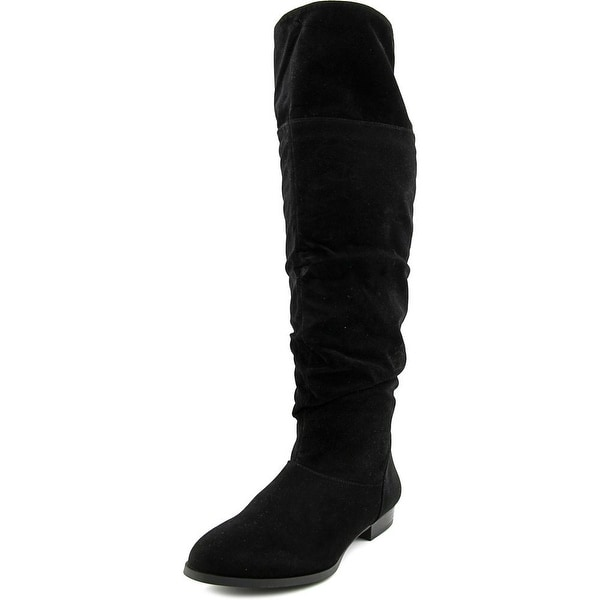 Style & Co Tirza Women Round Toe Synthetic Black Knee High Boot