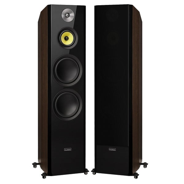 "Fluance Signature Series Hi-Fi Three-way Floorstanding Tower Speakers with Dual 8"" Woofers (HFFW)"