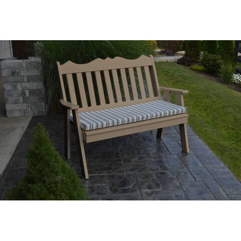 Poly 5' Royal English Garden Bench
