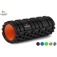 Wacces 2 in 1 High Density Deep Tissue Massage Therapy Foam Roller