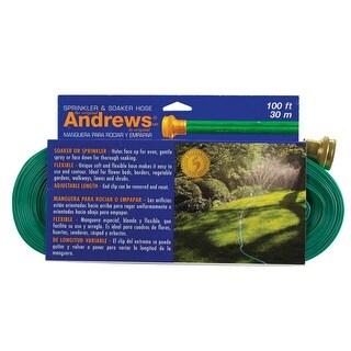 Andrews 10-12349 Sprinkler Hose, 100', Vinyl