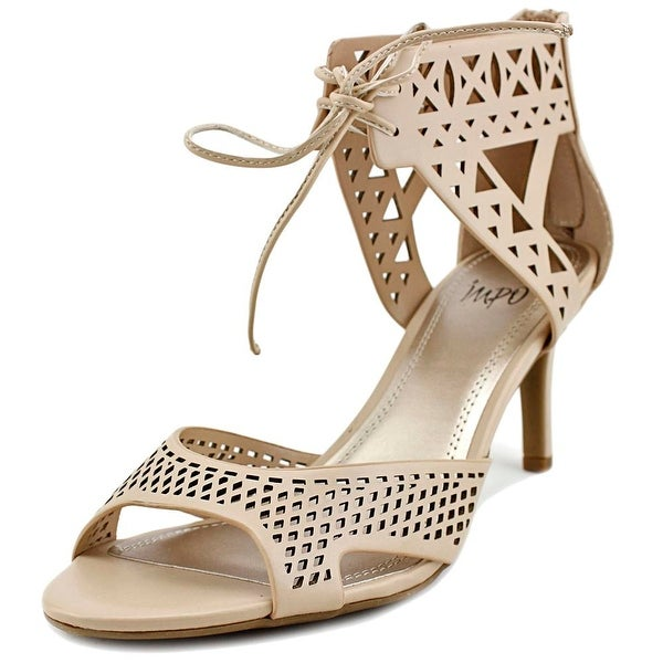 Impo Viddette Women Open Toe Synthetic Nude Sandals