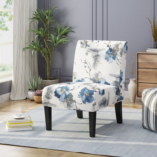 Kassi Contemporary Slipper Accent Chair by Christopher Knight Home. Opens flyout.