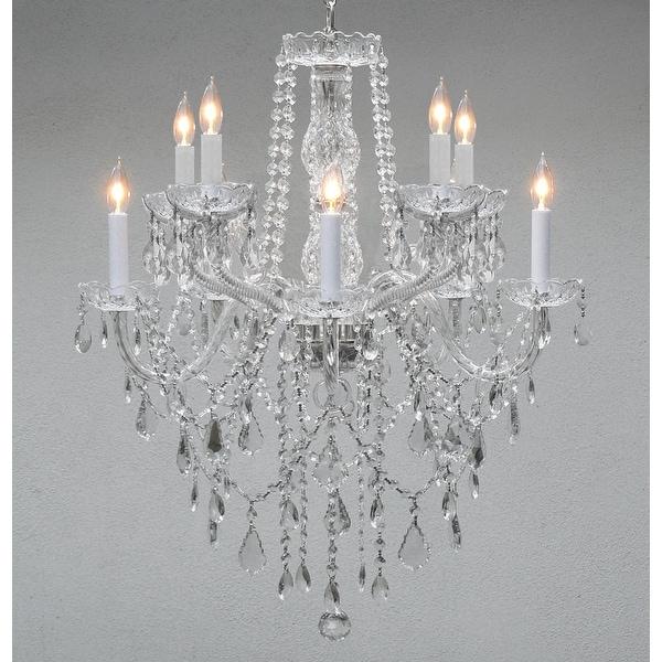 Swarovski Crystal Trimmed Crystal Chandelier Lighting