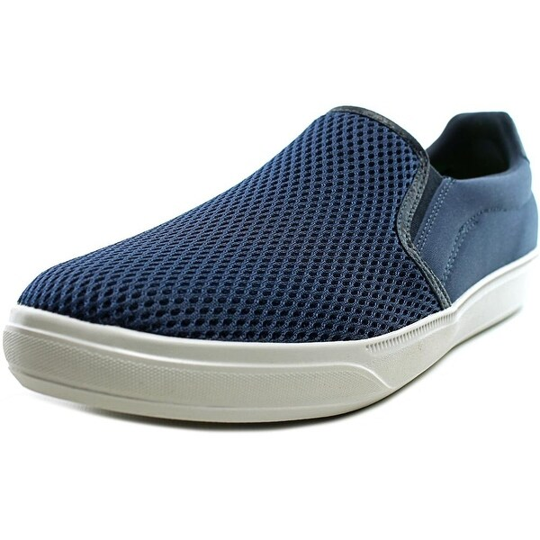 Skechers Go Vulc Mosey Men Round Toe Canvas Blue Sneakers