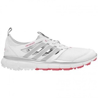 Adidas Women's Climacool II White/Silver/Flash Red Golf Shoes Q46727