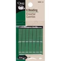 Size 10 6/Pkg - Short Beading Needles