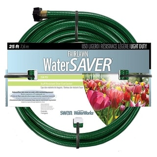 Swan SNFA12025 Fairlawn Water Saver Garden Hose, 1/2'' x 25'