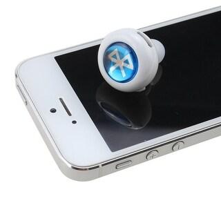 AGPtek Noise Reduction Wireless Stereo Bluetooth Earphone Headphone For Mobile Cell Phone Laptop Tablet - White