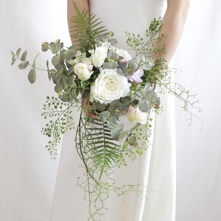 Wedding Bouquet The Chic Bridal Bouquet - Green/White