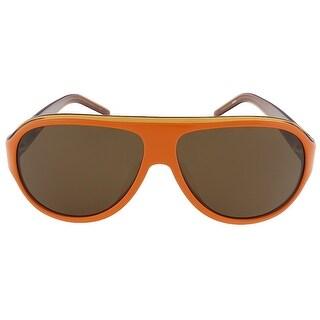 Lacoste L644S 800 Orange/Light Orange Aviator sunglasses