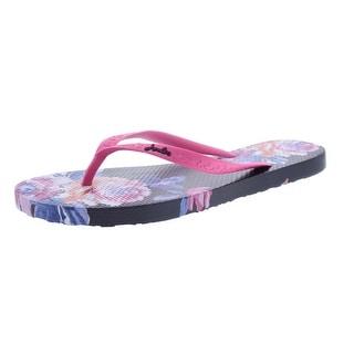 Joules Womens Sandy Flip-Flops Textured