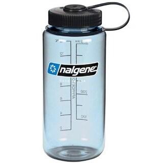 Nalgene Tritan Wide Mouth 16 oz. Water Bottle - Tuxedo Blue/Black