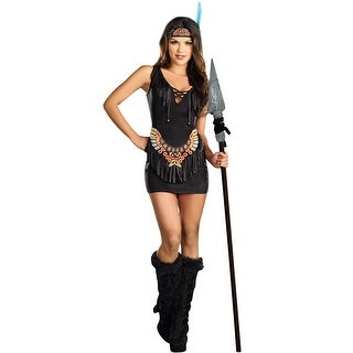 Dreamgirl Chief Hottiebody Adult Costume - Black - X-Large
