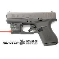 Viridian Reactor 5 Red Laser Sight For Glock 42 Featuring Ecr  Includes Hybrid Belt Holster