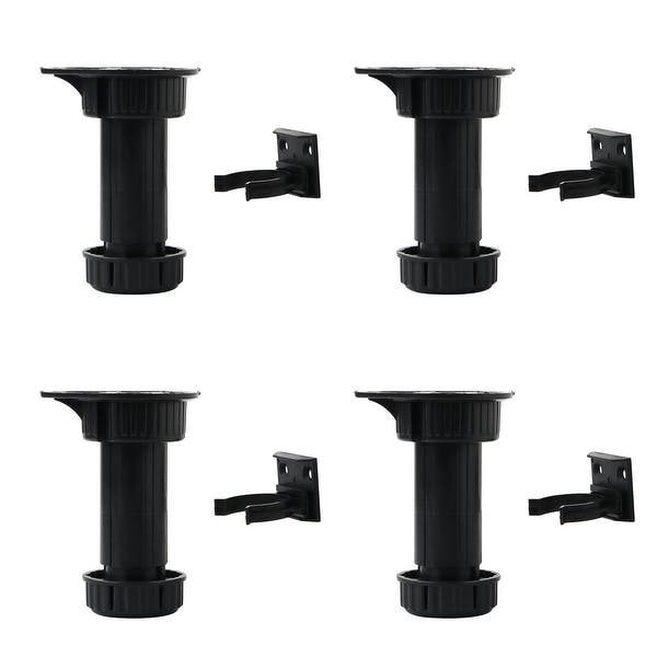 Shop 4pcs PP Adjustable Kitchen Cabinet Legs Feet Height ...