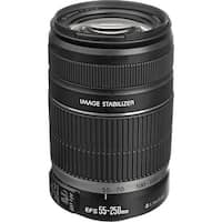 Canon EF-S 55-250mm f/4-5.6 IS II Lens (International Model)