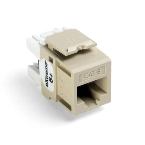 Snap In CAT6 Module Ivory
