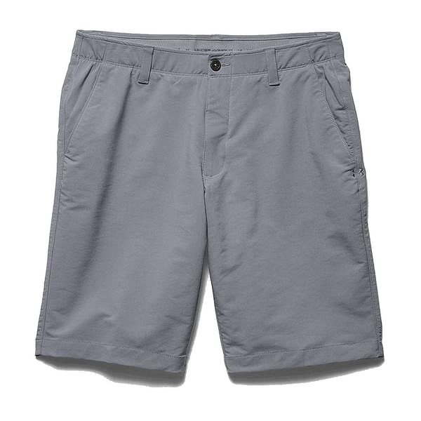 826c7bf8 Under Armour Gray Mens Size 40 Athletic Loose Heatgear Shorts