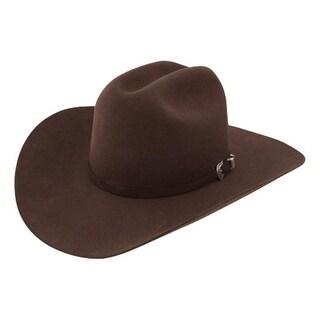 Resistol Cowboy Hat Mens Challenger Cattleman Chocolate
