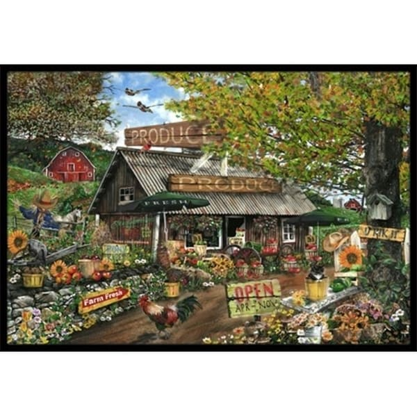 Carolines Treasures PTW2017JMAT The Produce Fruit Stand Indoor & Outdoor Mat 24 x 36 in.