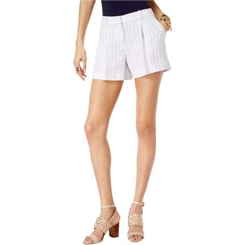 Michael Kors Womens Striped Casual Walking Shorts