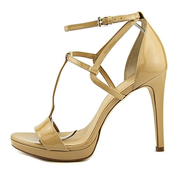 MICHAEL Michael Kors Womens Simone Open Toe Special Occasion Ankle Strap Sand...