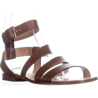 Splendid Caracas Buckle Ankle Strap Sandals, Cognac