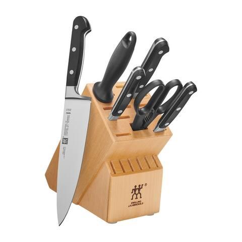 "ZWILLING J.A. Henckels Professional ""S"" 7-pc Knife Block Set"