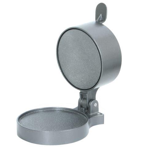 Offex Aluminum Adjustable Depth Hamburger Press - Silver