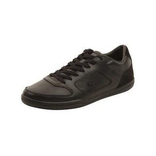 Lacoste Mens Court-Minimal 117 Sneakers in Black