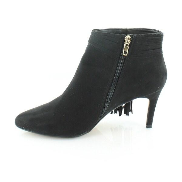 Thalia Sodi Womens Alta Fabric Pointed Toe Ankle Fashion Boots - 11