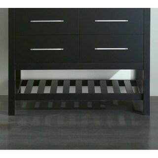"Bosconi SB-250-6MC 42-1/2"" Hardwood Free Standing Vanity Cabinet"