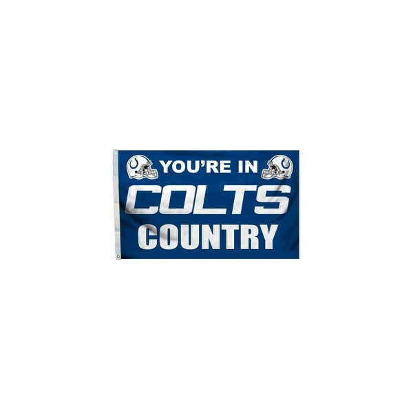 d4045505 Fremont Die Inc Indianapolis Colts Flag With Grommetts Flags
