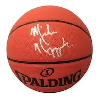 Mike Krzyzewski Autographed Duke Coach K Authentic Signed Basketball JSA COA
