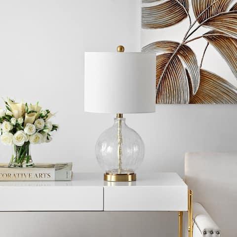 "Safavieh Lighting 22-inch Lovell Glass Table Lamp - 11"" x 11"" x 22"""