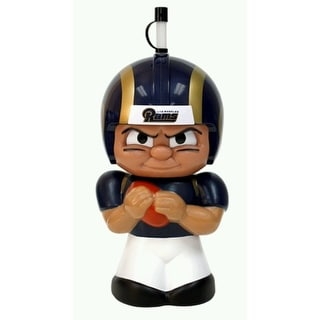 NFL Teenymates Big Sipper Drink Bottle 16oz Character Cup - Los Angeles Rams - Dark Blue