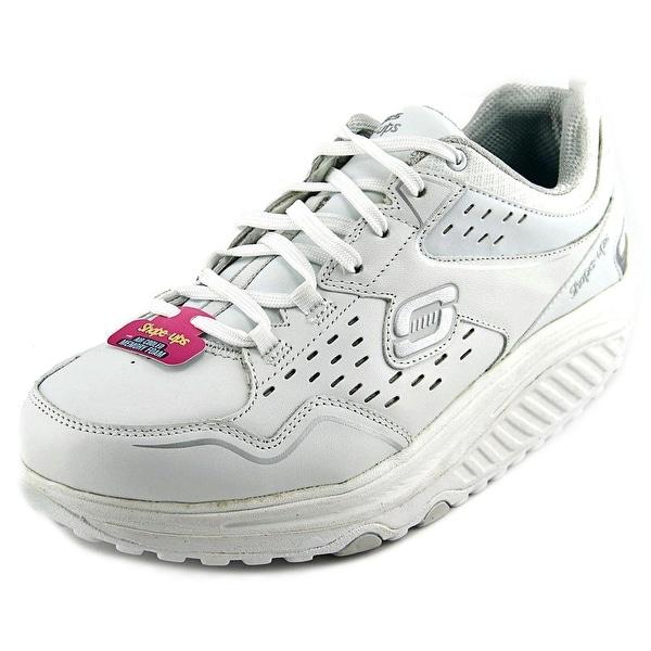 b62fa6b34b291 Skechers Shape-Ups 2.0 - Perfect Comfort Women Leather White Walking Shoe
