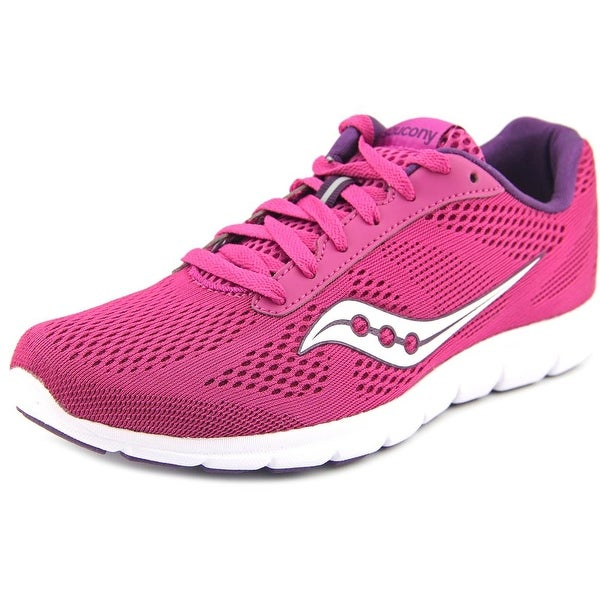 Saucony Ideal Women Round Toe Synthetic Purple Running Shoe