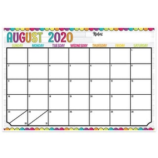 "Link to DIY Dots Desk Academic Calendar, August-July, 13"" x 19"" - One Size Similar Items in Planners & Accessories"