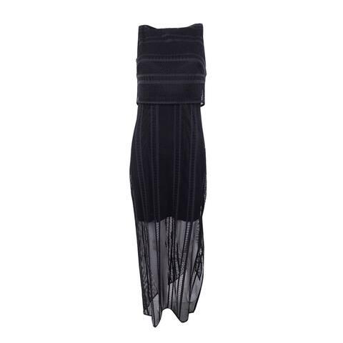 American Living Women's Lace Maxidress - Black