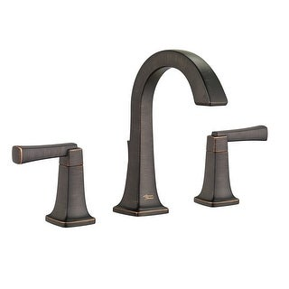 American Standard 7353.801  Townsend 1.2 GPM Widespread Bathroom Faucet with Speed Connect Technology and High Arch Spout