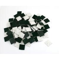 Unique Bargains 100 Pcs Sticky Adhesive 4mm Wire Cable Tie Wrap Mount Base White