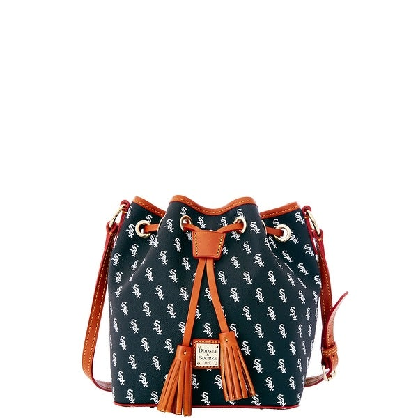Dooney & Bourke MLB White Sox Kendall Crossbody (Introduced by Dooney & Bourke at $228 in Oct 2015) - Black