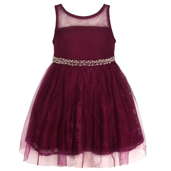 Burgundy Christmas Dress