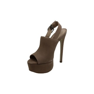 Link to Steve Madden Womens Karlee Leather Open Toe Ankle Strap Classic Pumps - 5.5 Similar Items in Women's Shoes