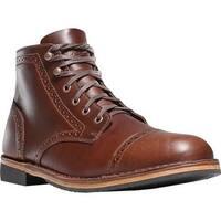 Danner Men's Jack II Brogue Ankle Boot Dark Coffee Full Grain Leather